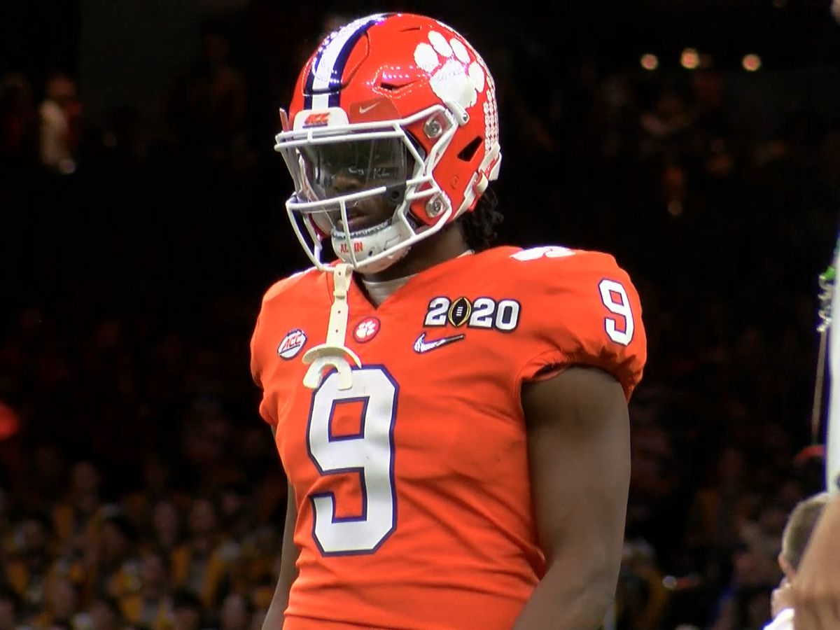 Former Jennings Bulldog Travis Etienne staying at Clemson for senior season