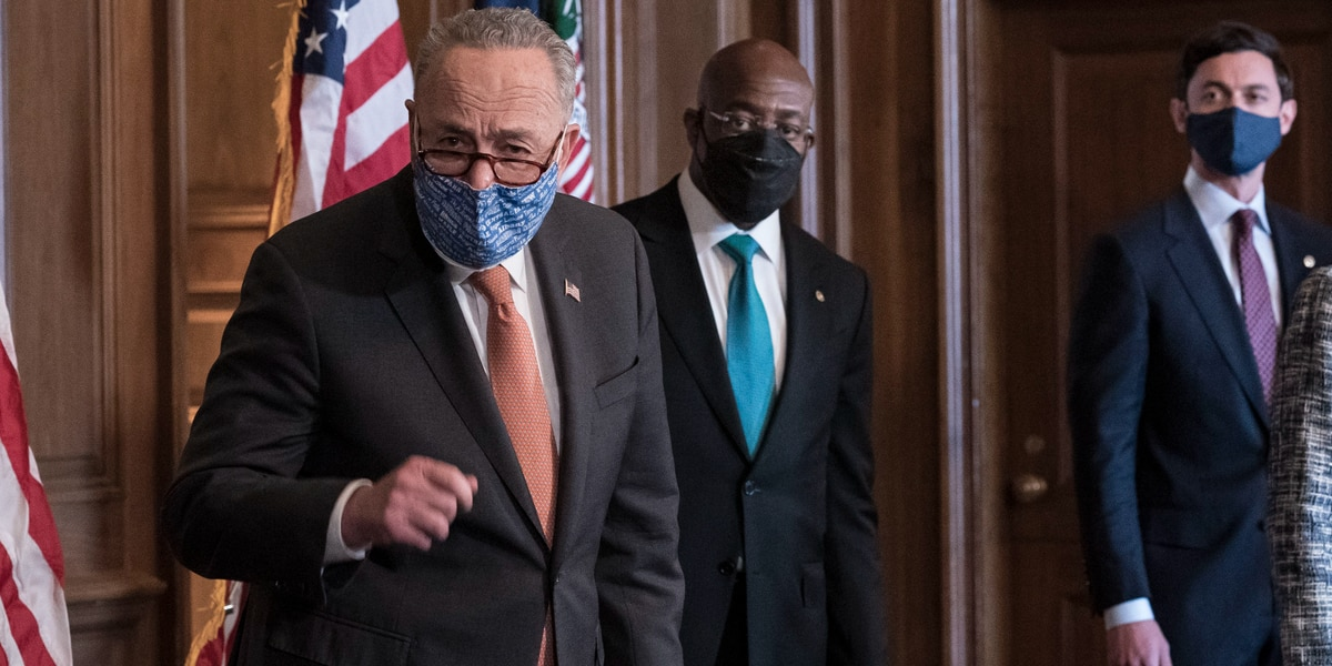 Schumer: Democrats must pass virus aid with or without GOP