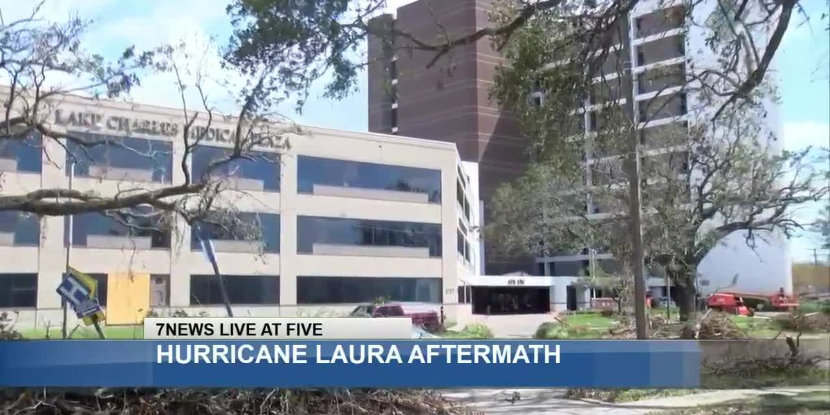 Local doctor discusses riding out Hurricane Laura at Memorial Hospital