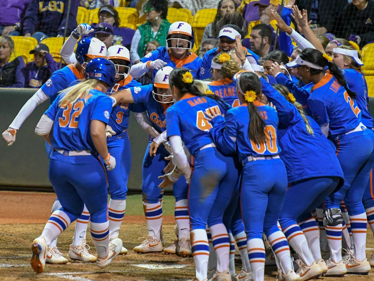 Grand slam lifts No. 7 Florida over No. 9 LSU softball in Game 1