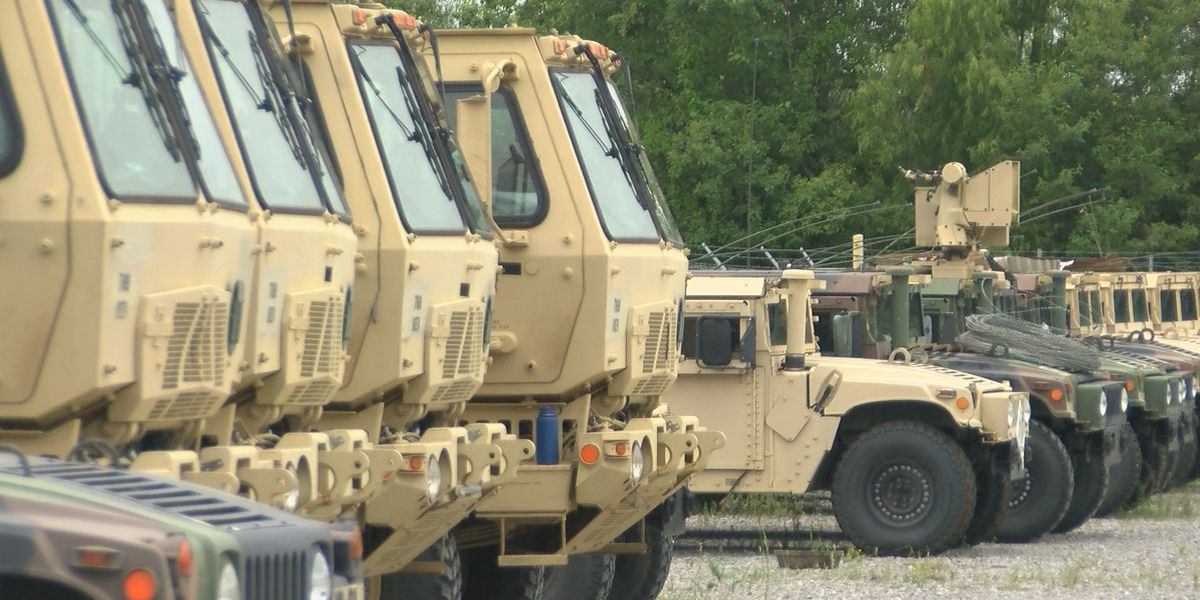Louisiana National Guard preparing for weekend storms