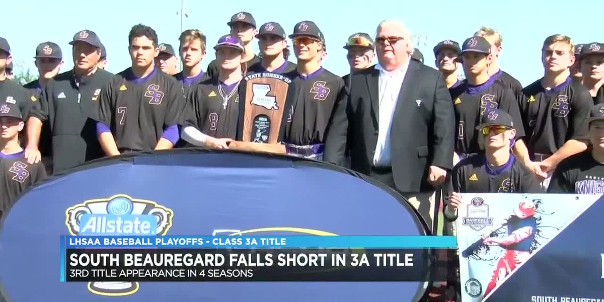 South Beauregard falls to top-seeded Sterlington in 3A title game