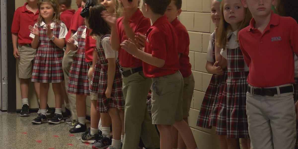 Immaculate Conception Cathedral School hosts 4th annual 'Panther Walk'
