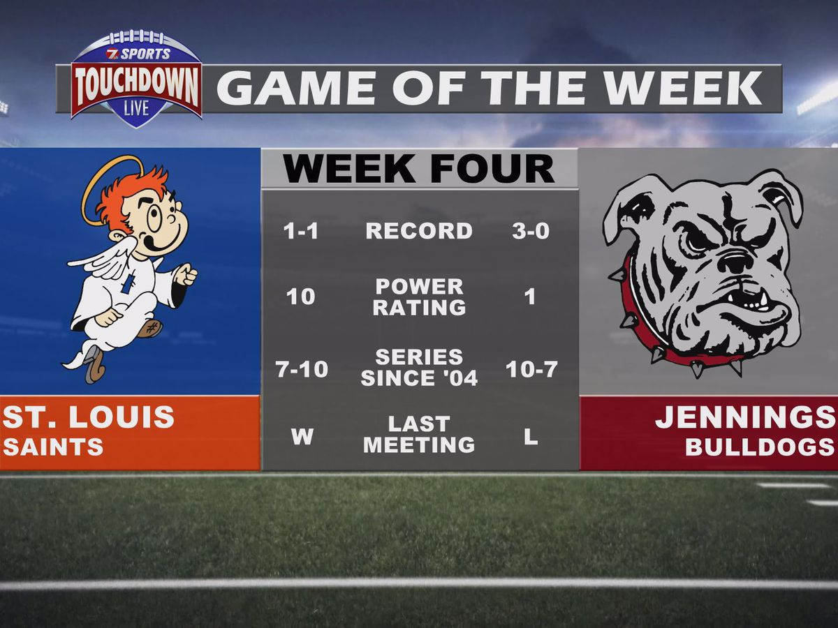 St. Louis at Jennings named week four TDL Game of the Week