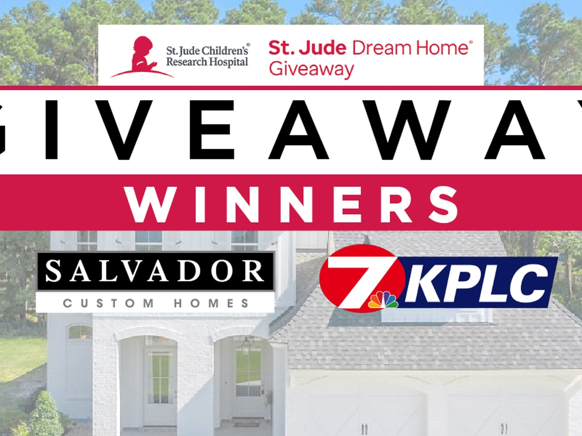 St. Jude Dream Home 2020 prize winners