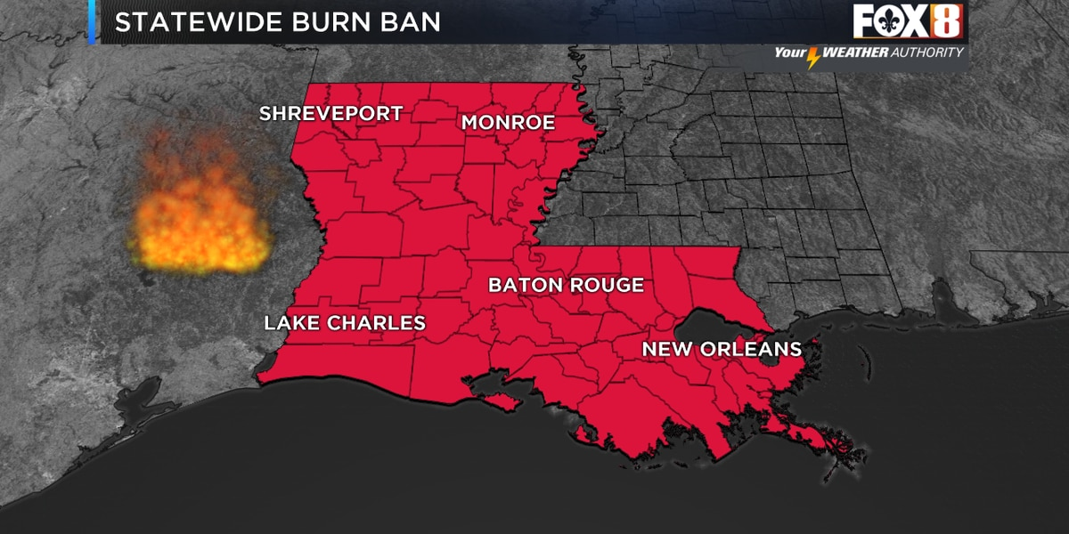 Statewide burn ban issued due to COVID-19