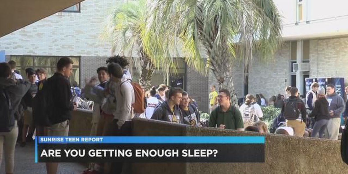 TEEN REPORT: Are you getting enough sleep?