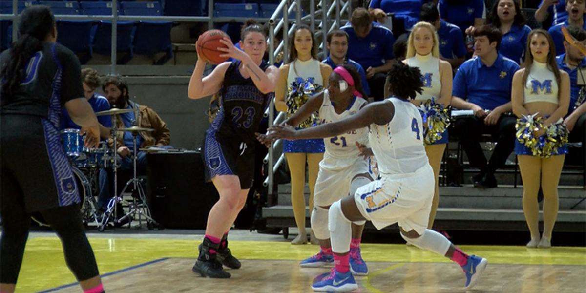Baudin's 30 allows UCA to sink Cowgirls at home, 51-45