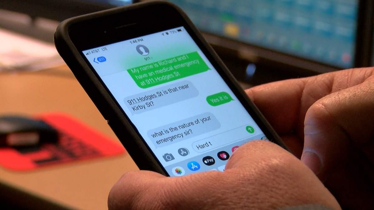 Text-to-911 now available in Calcasieu Parish