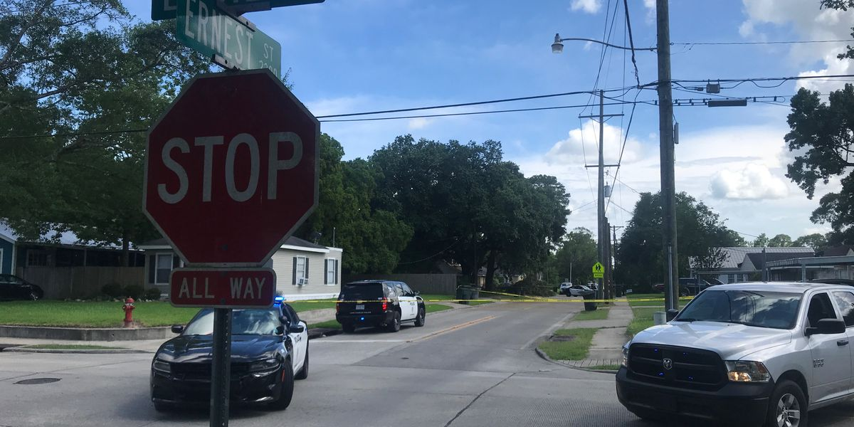LCPD investigating shooting at the intersection of Ernest and Louie streets