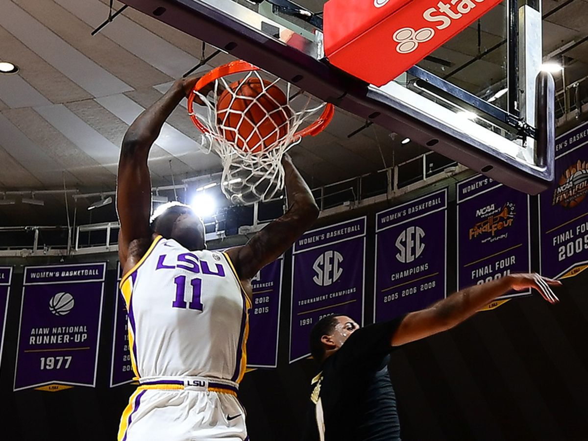 LSU men's basketball bounces back with win over Vandy