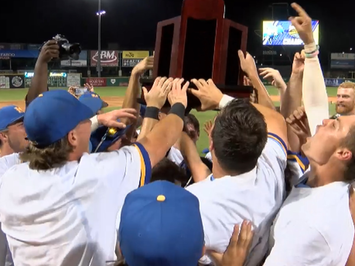 McNeese baseball wins first SLC championship since 2003