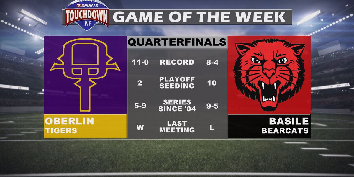 Oberlin at Basile named TDL Game of the Week for the quarterfinal round