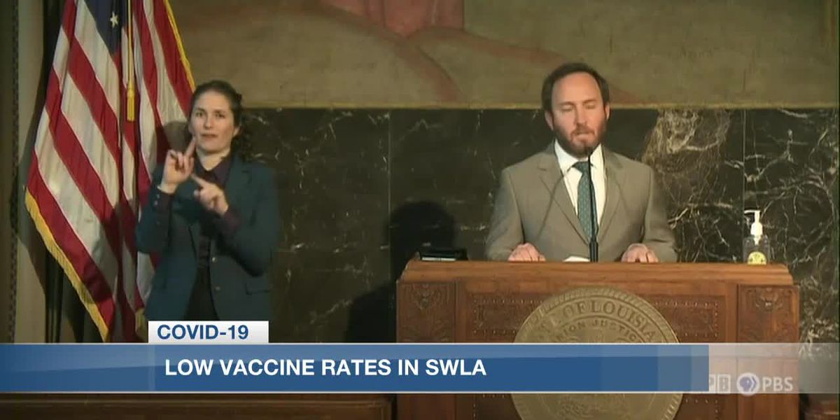 Local pharmacy reacts to low vaccination rates in Southwest Louisiana