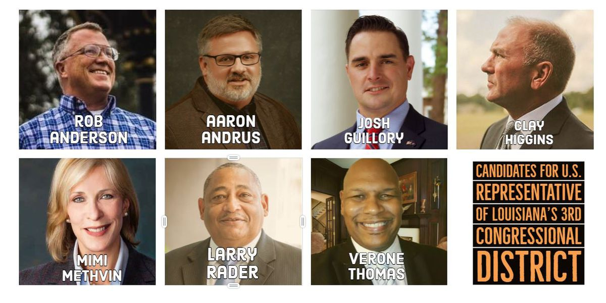 IN THEIR WORDS: Candidates for US Representative - 3rd Congressional District