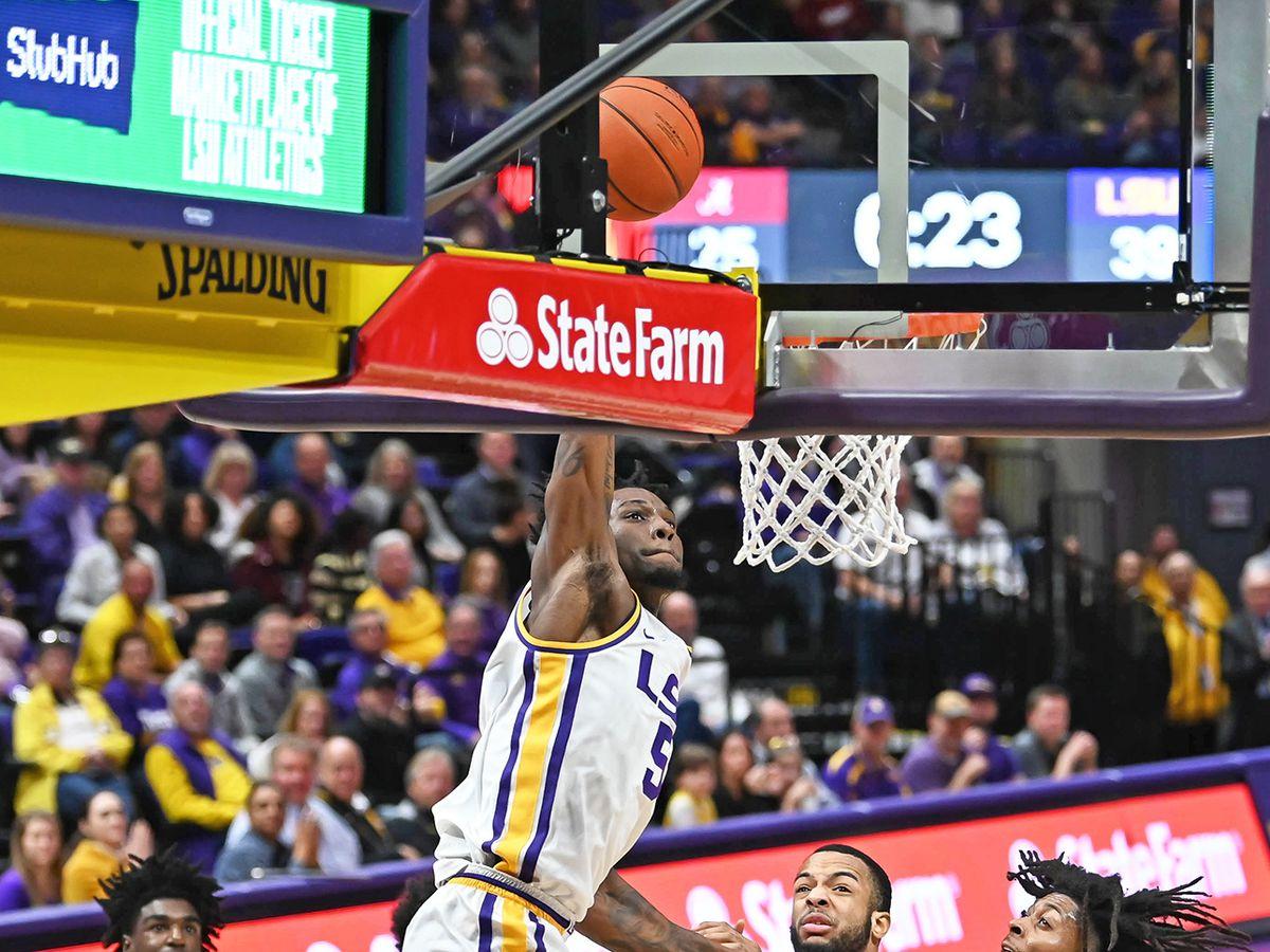 LSU sophomore F Emmitt Williams declares for 2020 NBA Draft