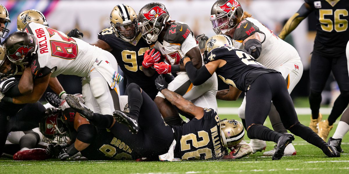 Saints look to be focused against Bucs without fans
