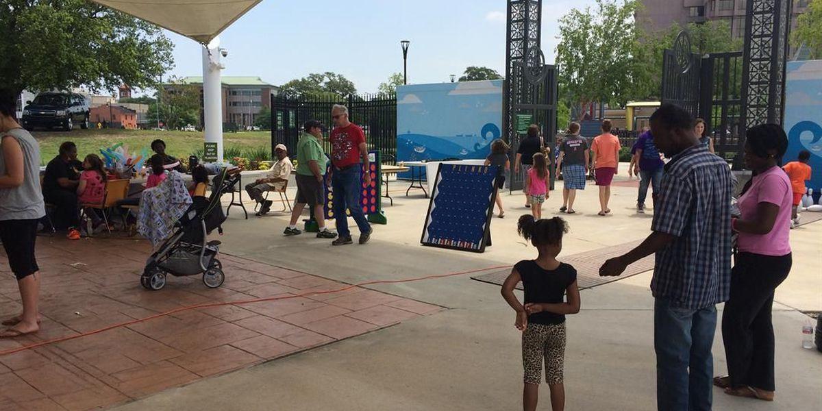 "Lake Charles celebrates ""Kids to Park Day"""