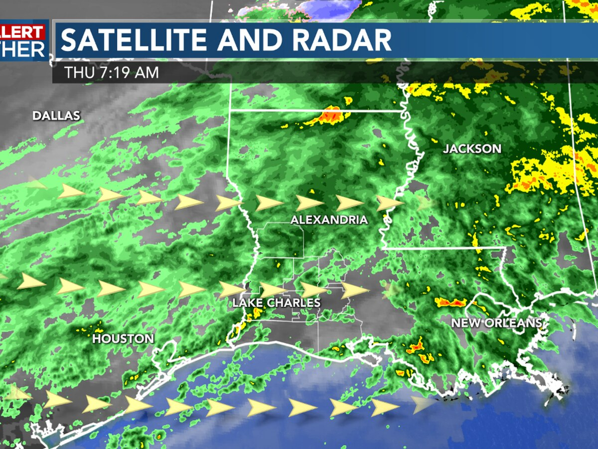 FIRST ALERT FORECAST: Rainy and colder today; parades looking better through Mardi Gras