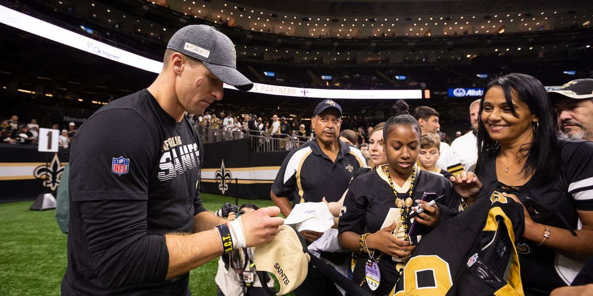 Drew Brees announces $5M donation to build healthcare centers in La.