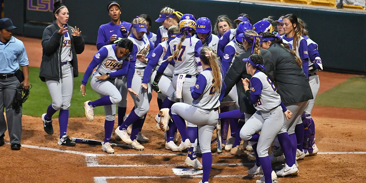 LSU softball faces South Alabama in Tiger Park