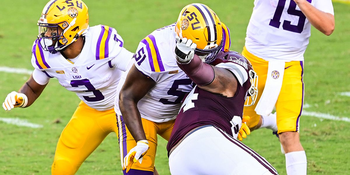 LSU sophomore OT Dare Rosenthal announces return, meaning entire O-line is back