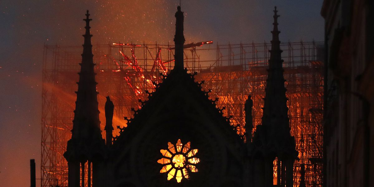 France vows to rebuild after devastating fire at Notre Dame