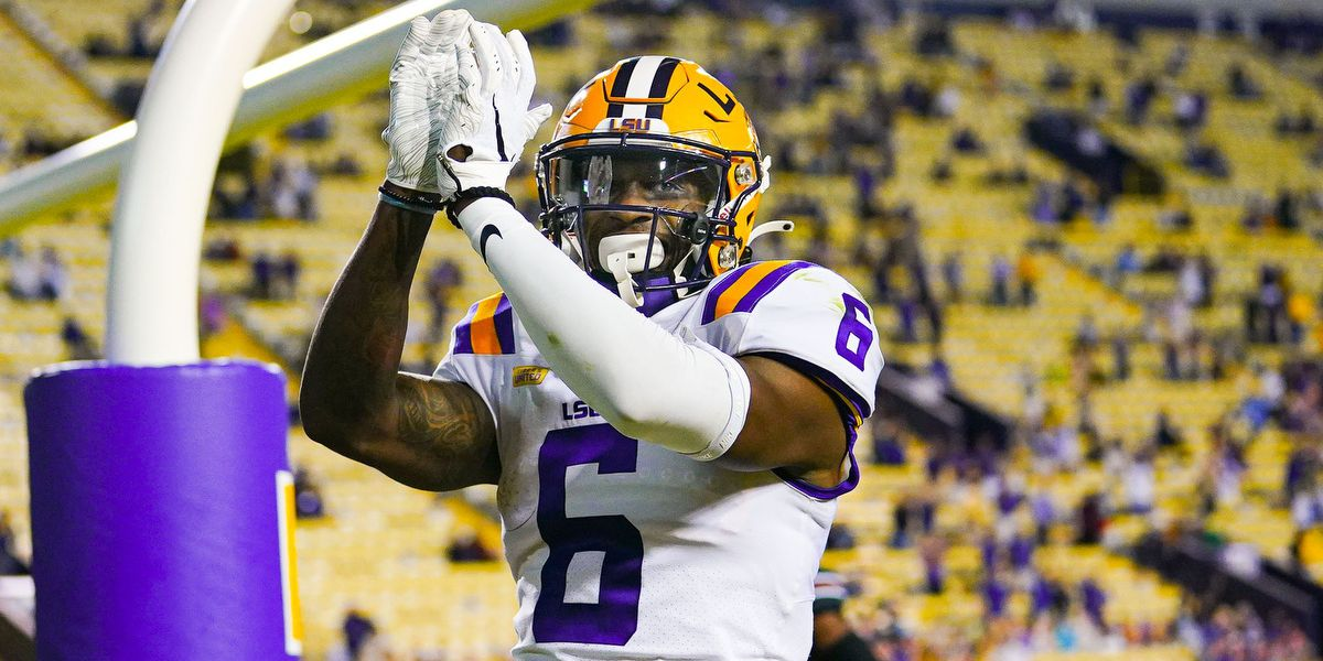 LSU WR Terrace Marshall Jr. shows great leadership during difficult times for Tigers