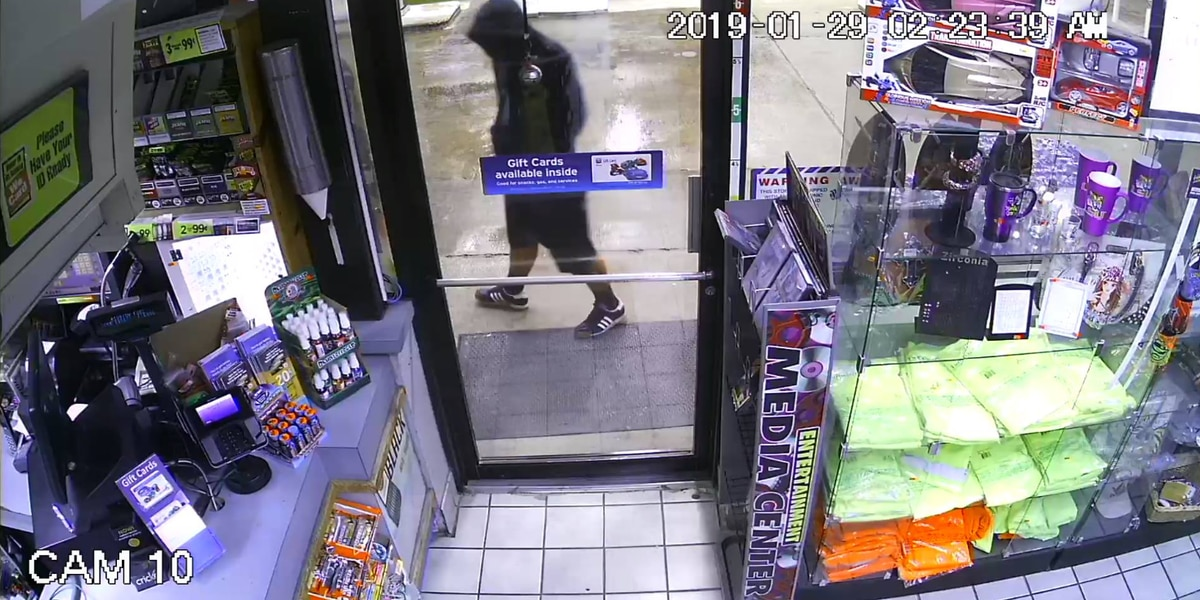 Sulphur Police seeking identities of two suspects accused of armed robbery