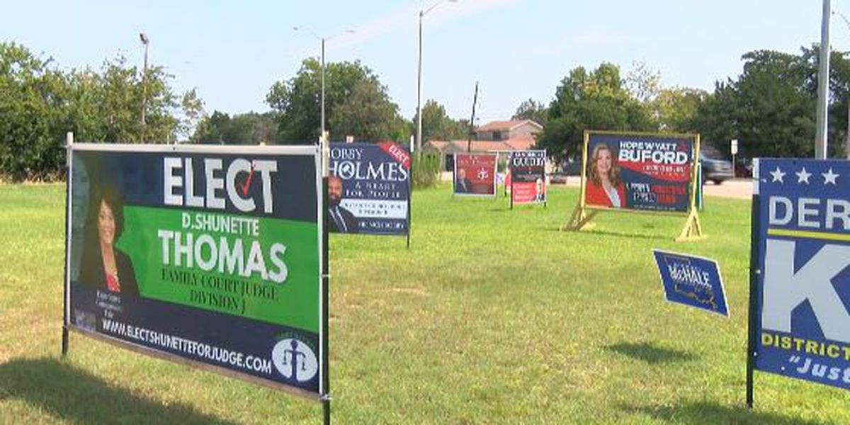 Candidates complain of sign theft and vandalism