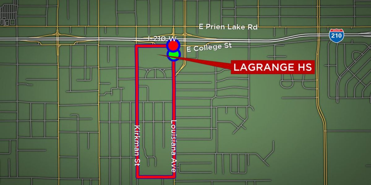 Here's the LaGrange High School Homecoming Parade route