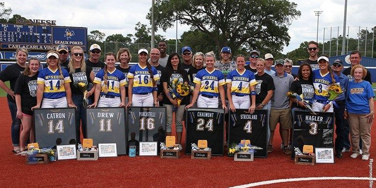 McNeese wins on Senior Day, takes series from Southeastern