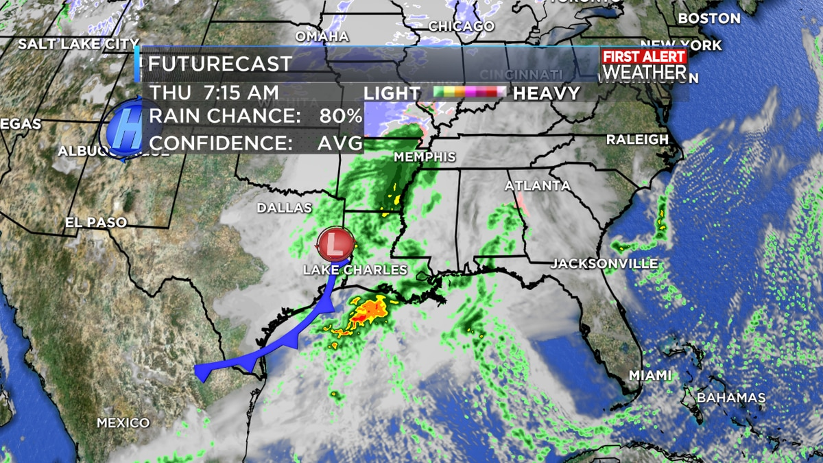 FIRST ALERT FORECAST: Chilly again tonight, but rain returns Wednesday