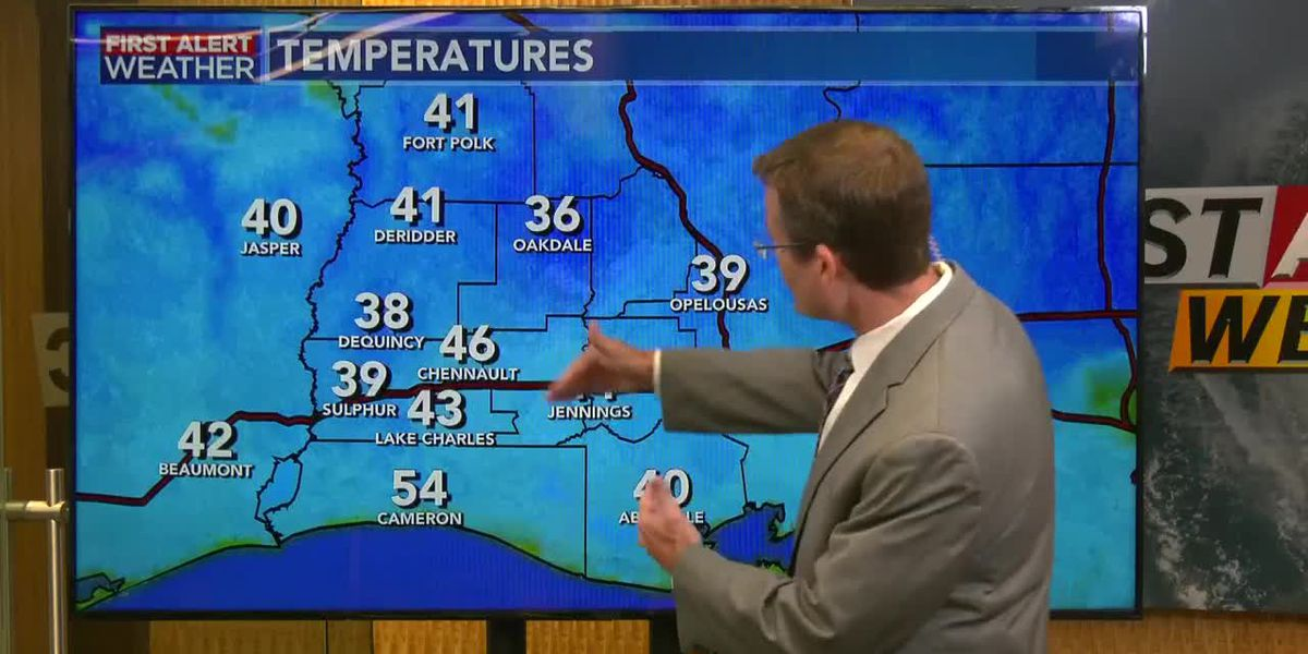 FIRST ALERT FORECAST: Election Day starting off very cold but much warmer by afternoon