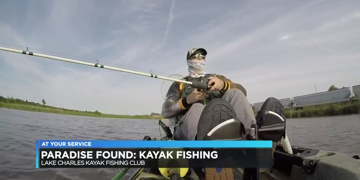PARADISE FOUND: A day with the Lake Charles Kayak Fishing Club