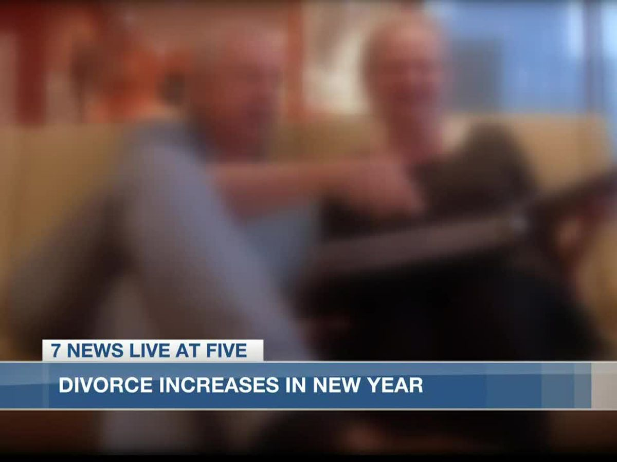 Increased divorces in new year