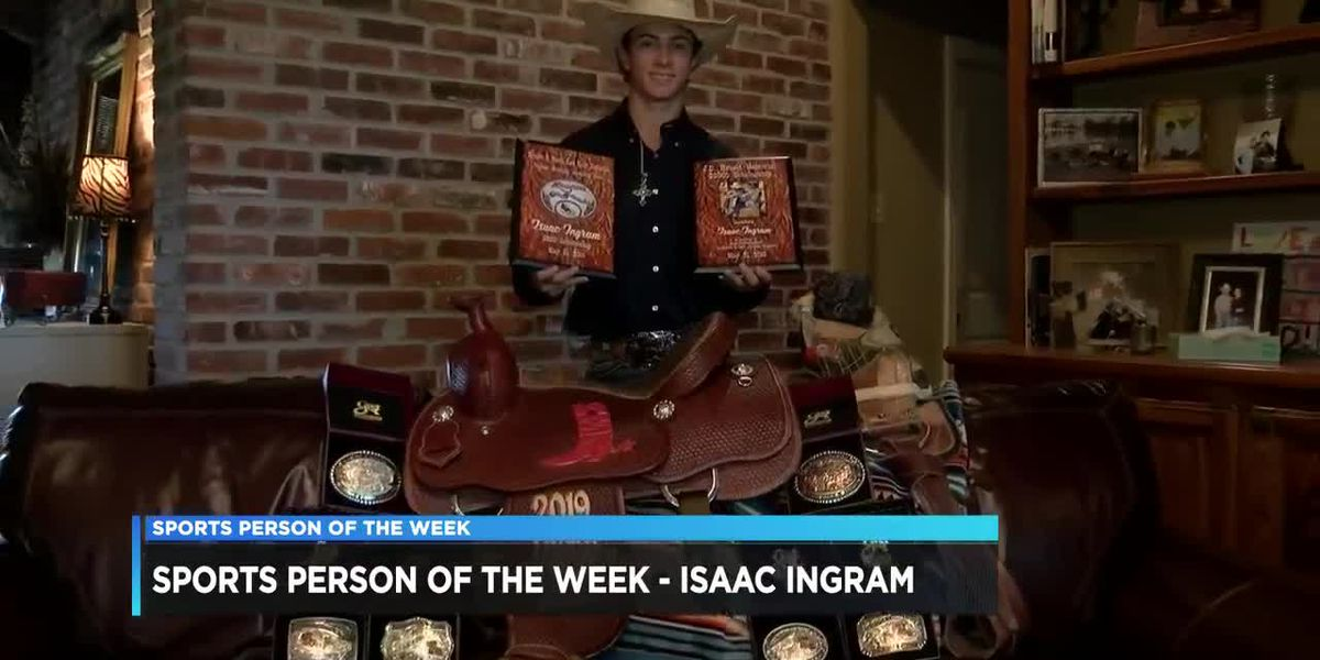 Sports Person of the Week - Isaac Ingram