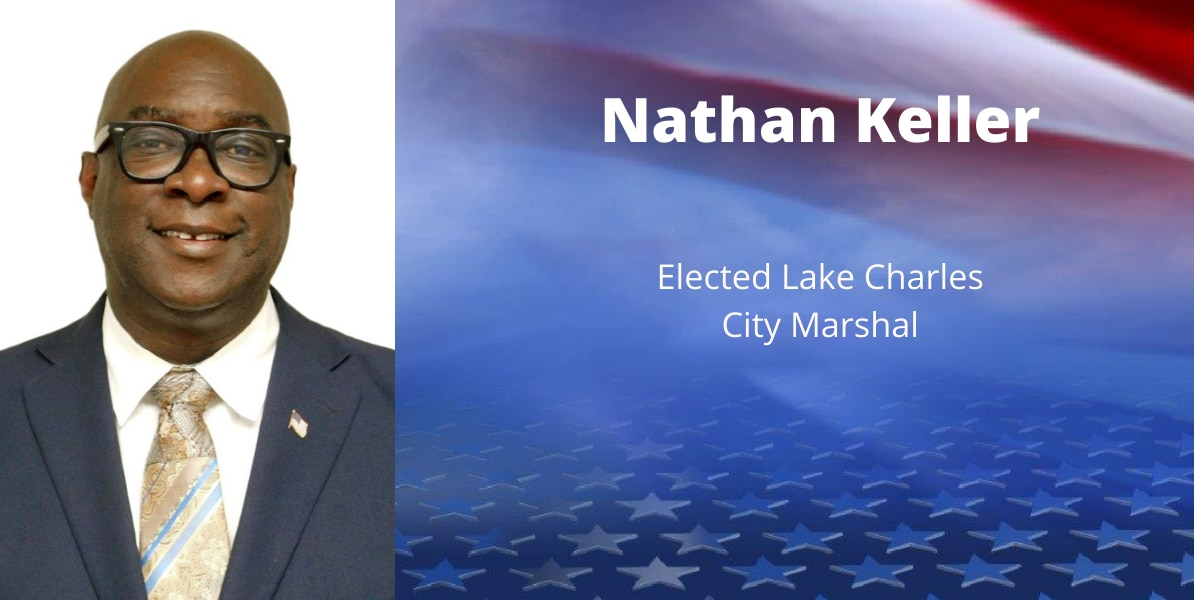 Keller elected Lake Charles City Marshal