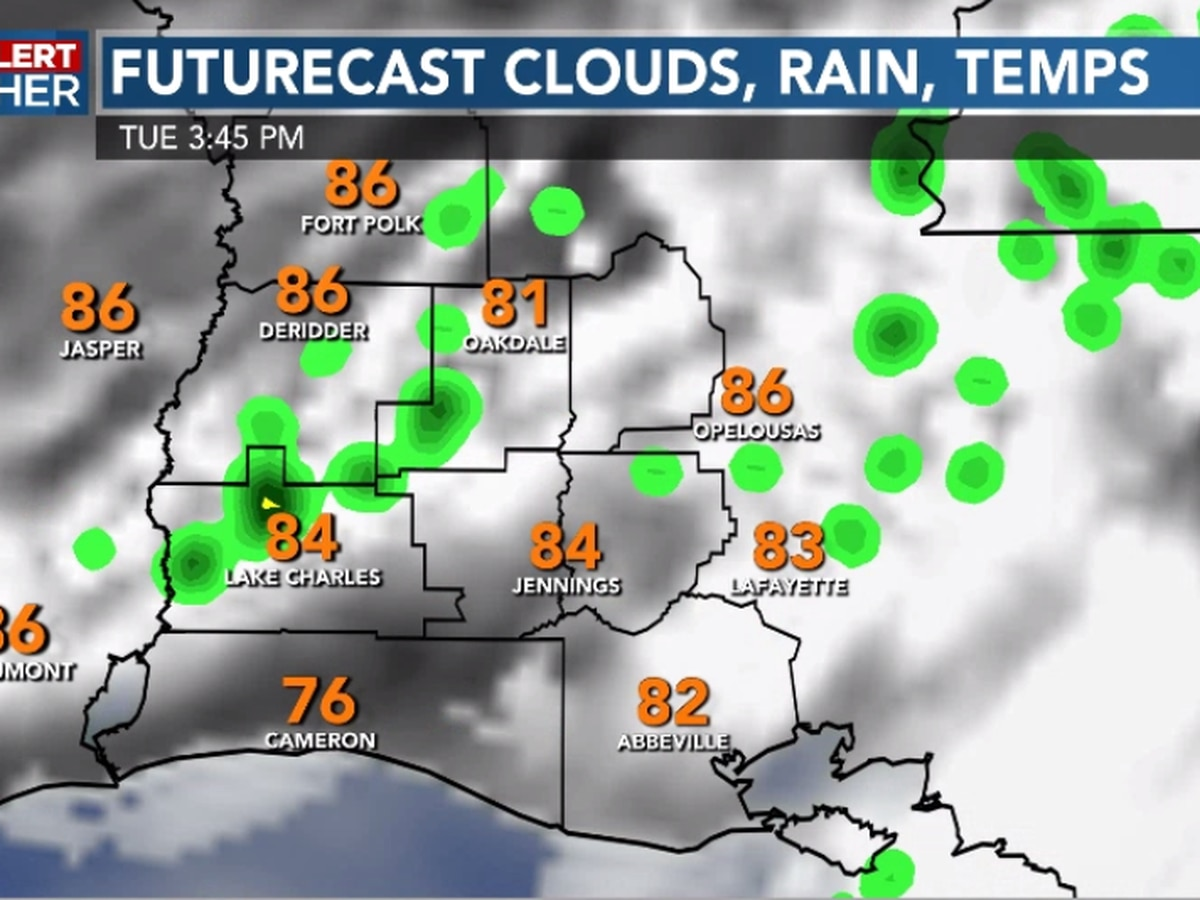 FIRST ALERT FORECAST: A few more showers return today, then hotter Wednesday