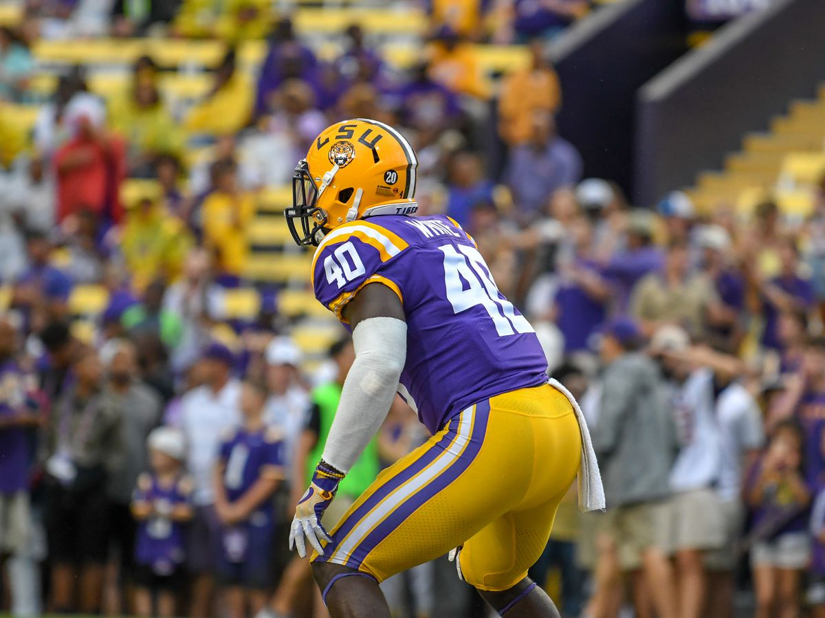LSU LB Devin White announces he is entering NFL draft