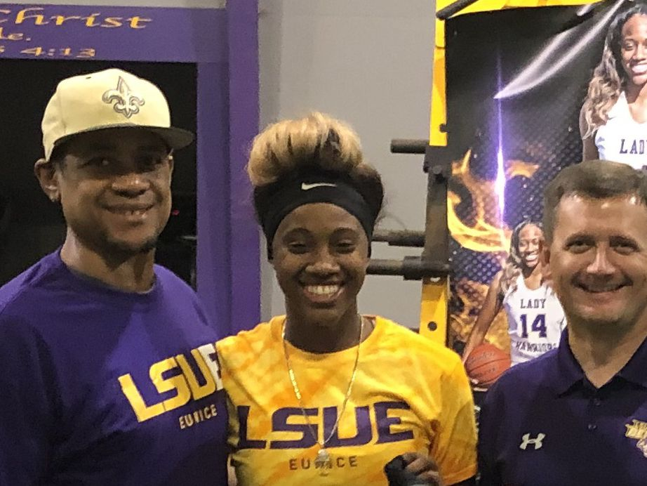 LSUE coach Gonzales tabs Oakdale's St. Andre as first signee