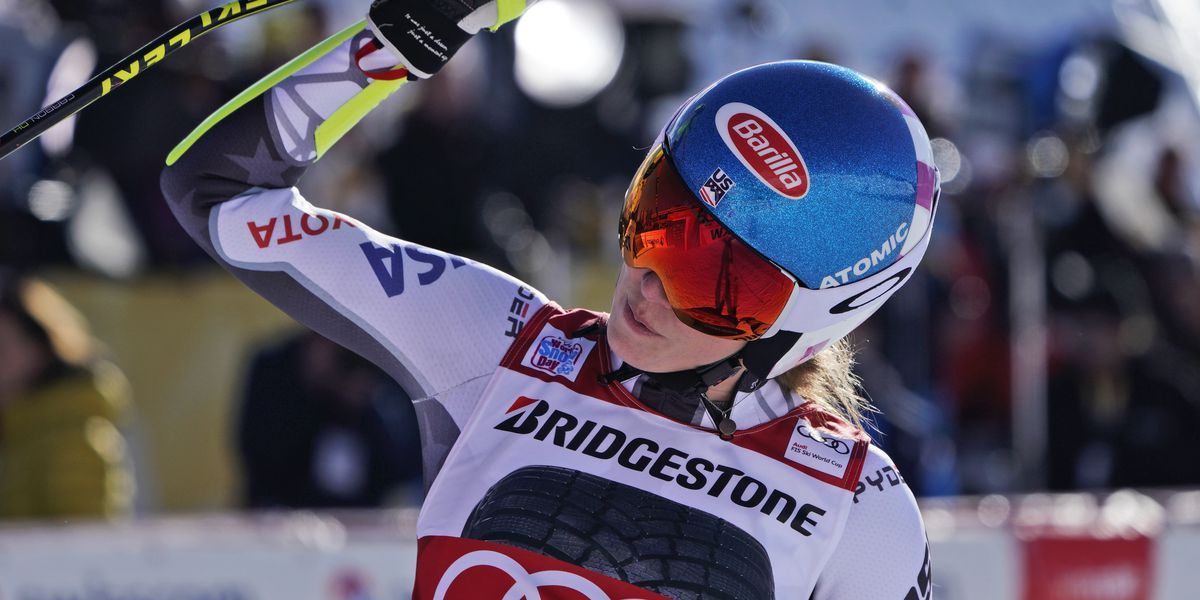 Shiffrin wins World Cup super-G for back-to-back speed wins