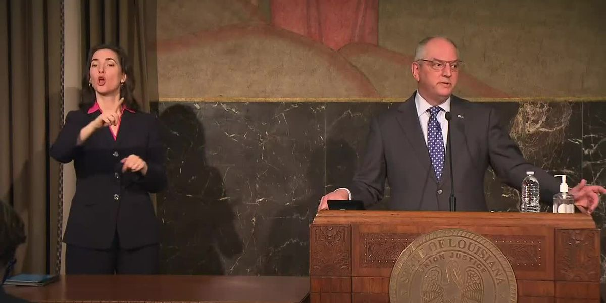 Gov. Edwards requests Presidential Emergency Declaration for severe winter weather