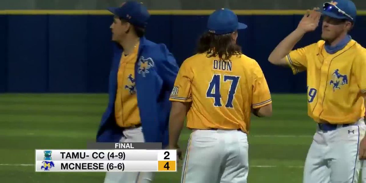 Dion comes out the pen to close out McNeese's 4-2 win over A&M-CC