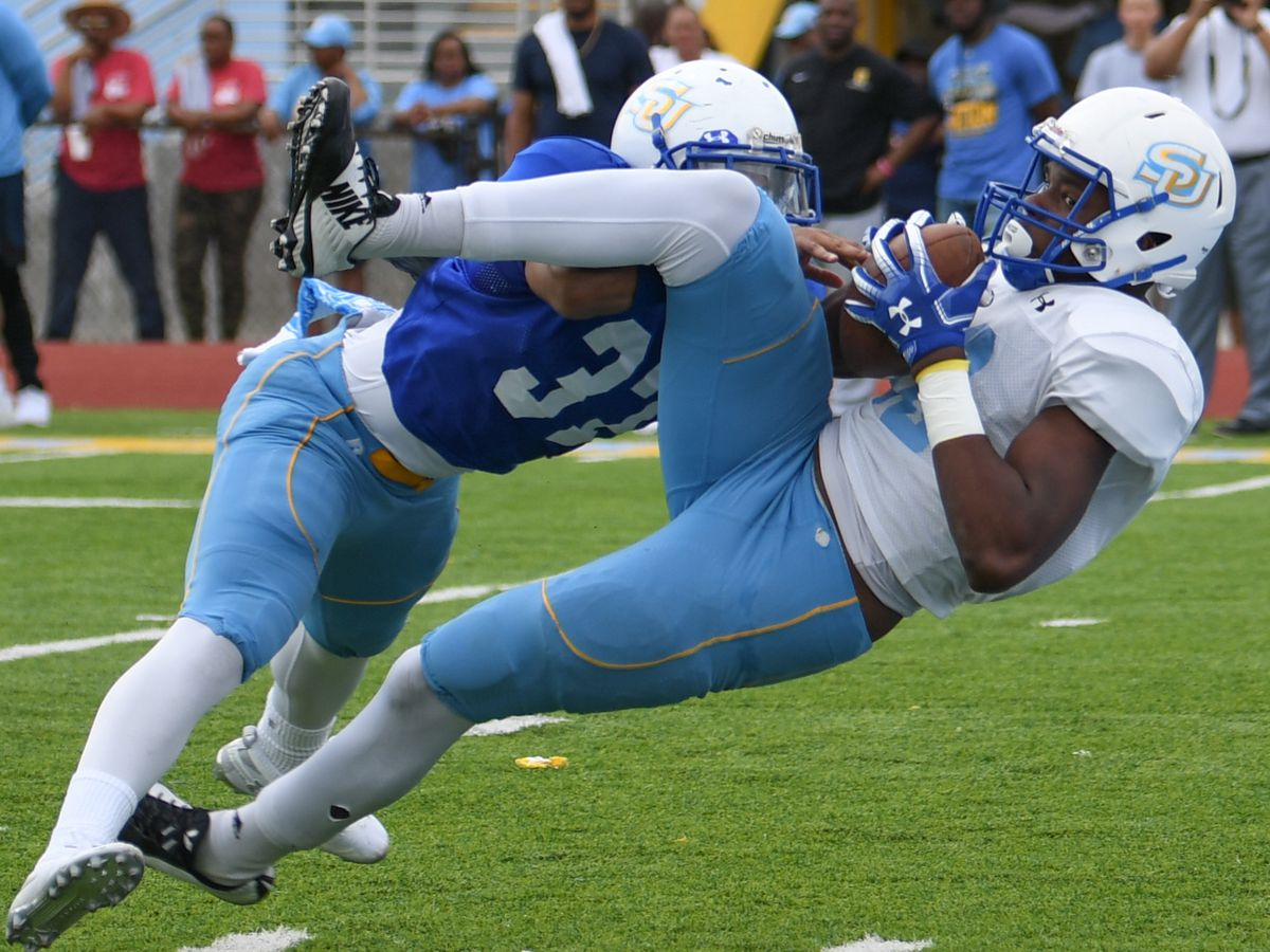 Southern offense dominates in spring game