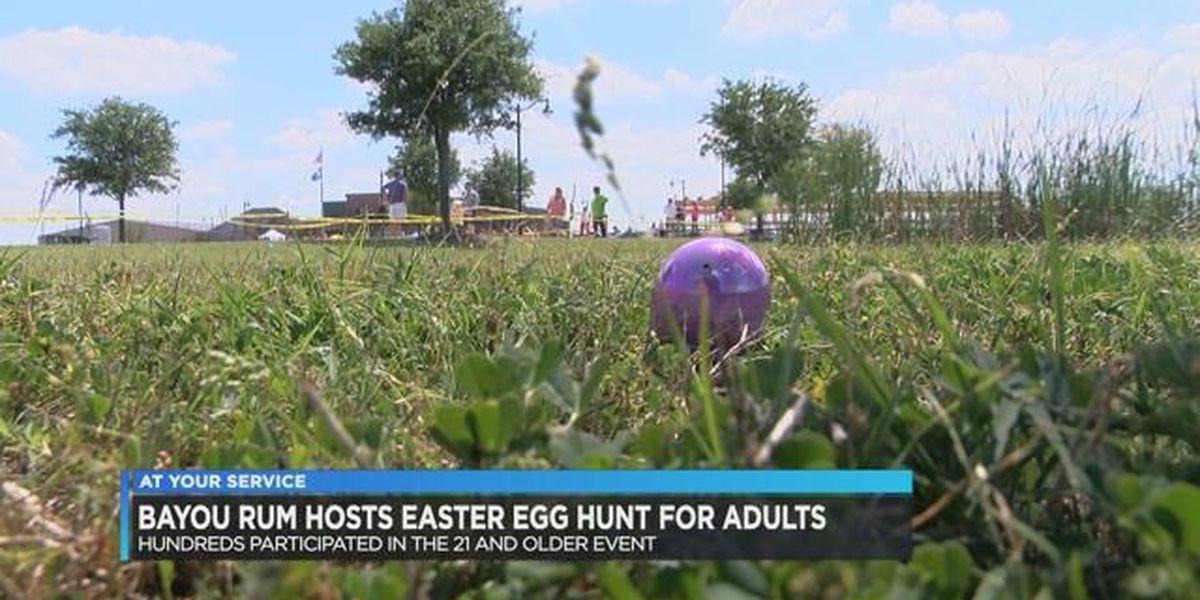 Bayou Rum hosts Easter egg hunt for adults