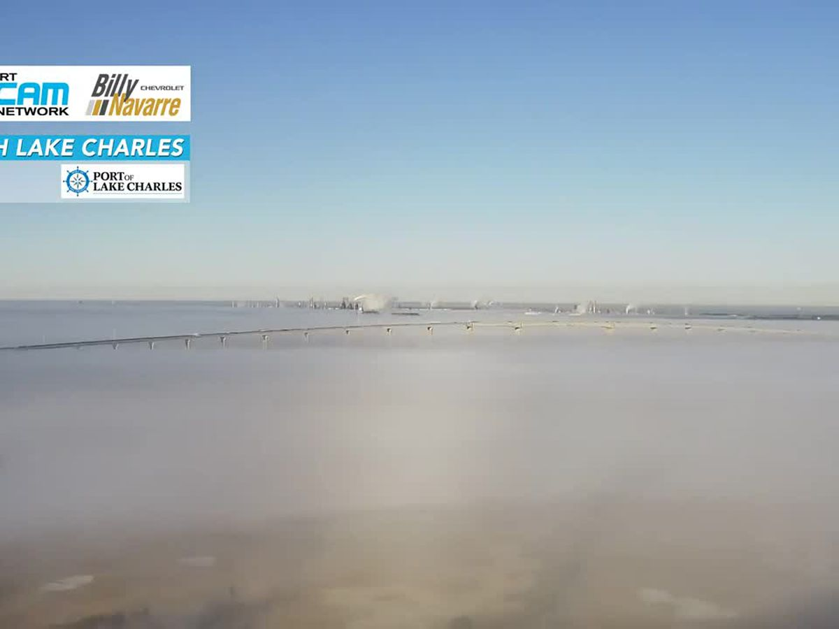 SKYCAM VIDEO: Morning fog engulfs 210 bridge