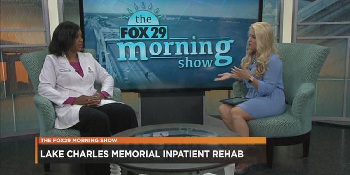 VIDEO: Rehabilitation at Lake Charles Memorial