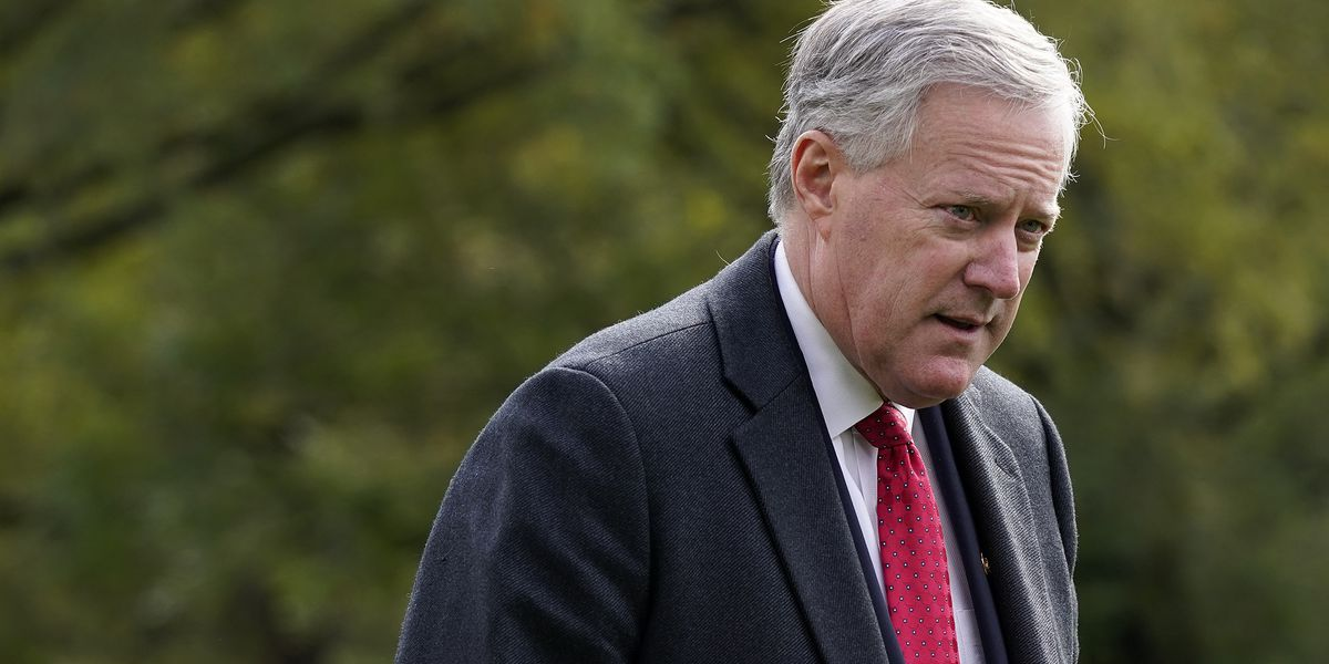 Trump chief of staff Meadows diagnosed with COVID-19