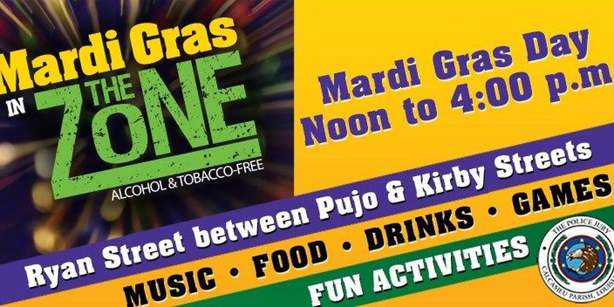 "CPPJ : ""The Zone"" will return for Mardi Gras 2019"